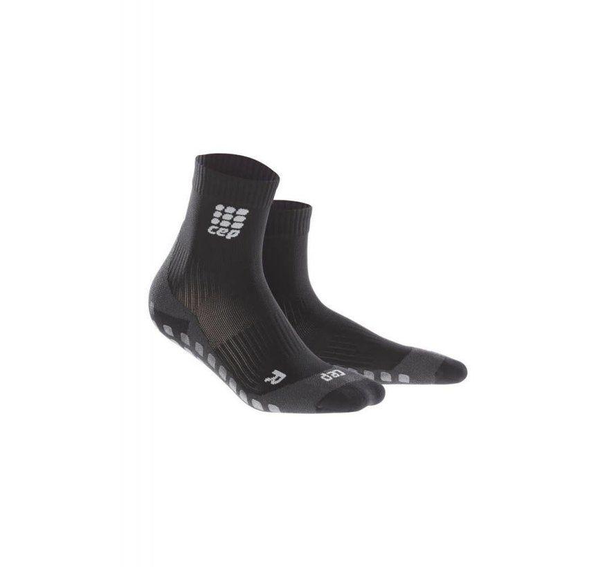 CEP griptech short socks, black, men