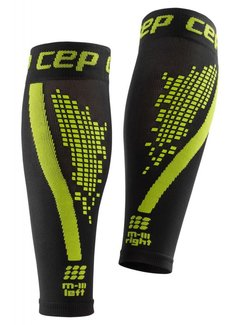CEP CEP nighttech calf sleeves, green, men