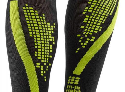 CEP CEP nighttech calf sleeves, green, women