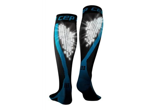 CEP nighttech socks, blue, men
