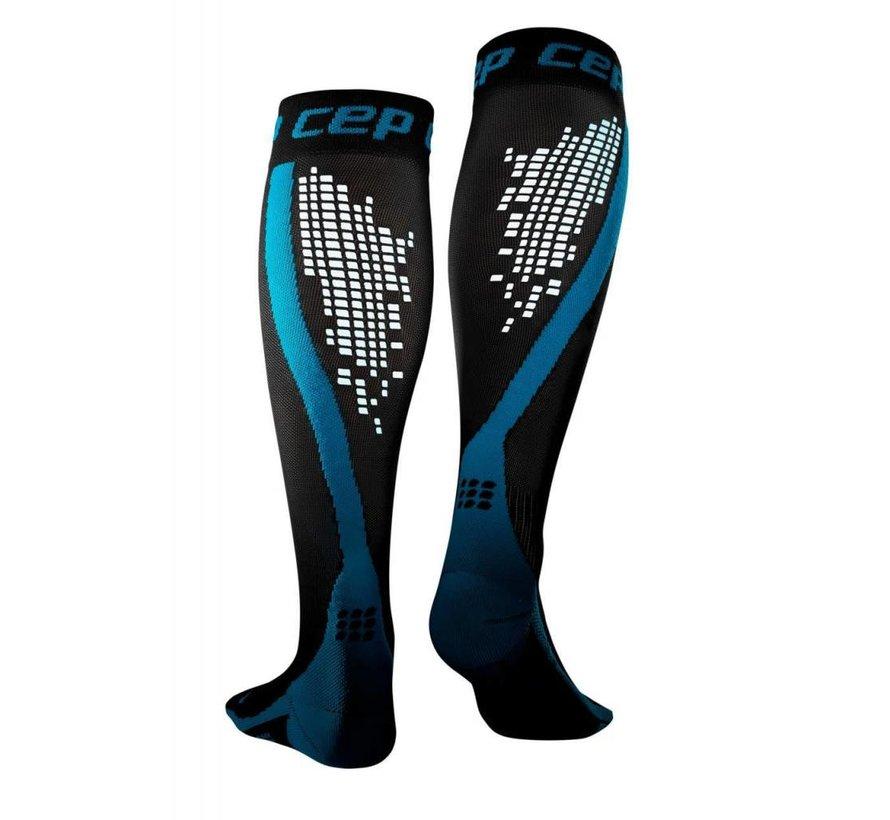 CEP Nighttech Socken, blau, Männer