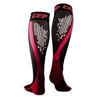 CEP nighttech socks, pink, women