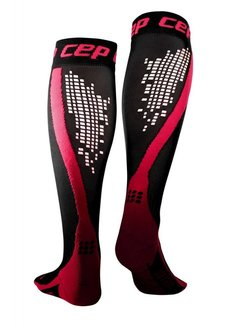 CEP CEP Nighttech Compression Socks Schwarz / Rosa Damen