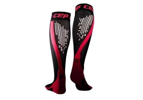 CEP Nighttech Socken, pink, Frauen