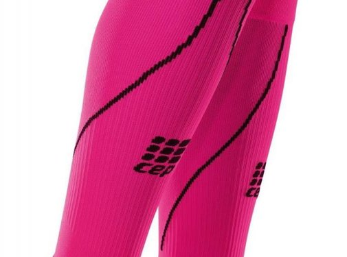 CEP CEP pro + calf sleeves 2.0, pink, women