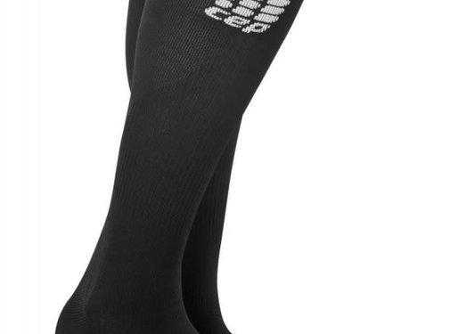 CEP CEP pro + run socks 2.0, black / black, men