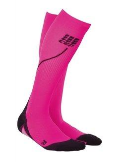 CEP CEP pro + run socks 2.0, pink / black, women