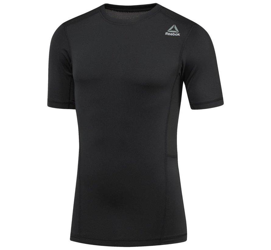 Reebok DMM Kompressions Shirt Schwarz