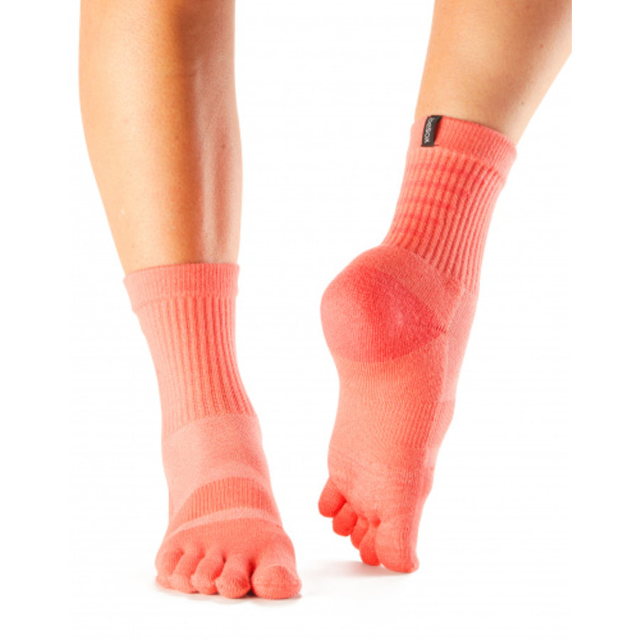 Toesox Casual Crew Tile Blue