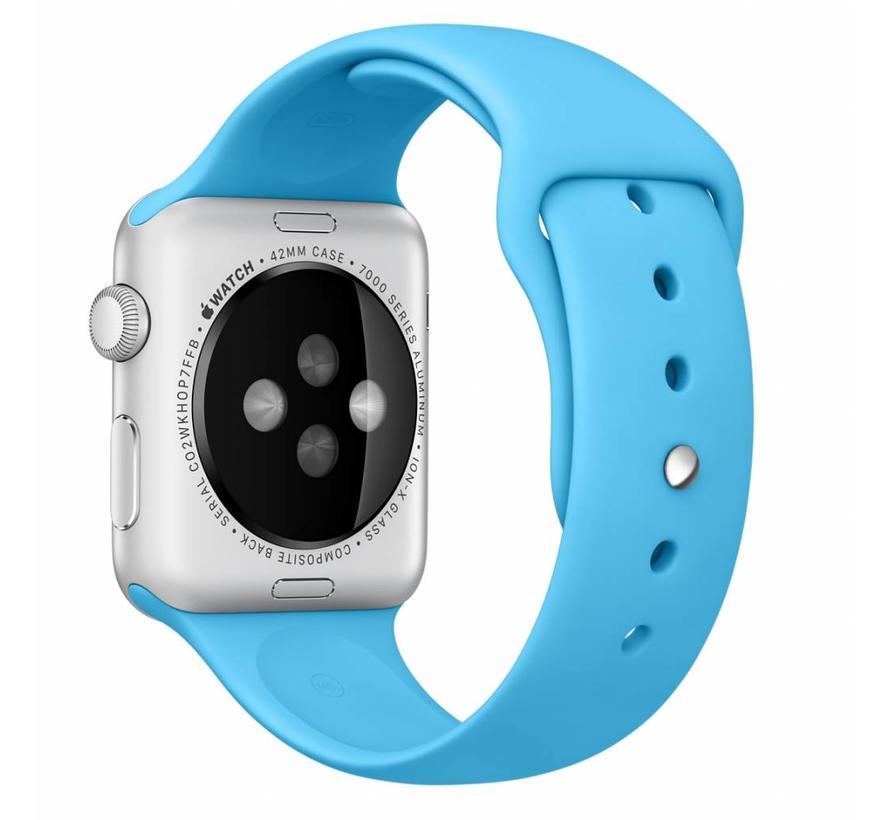 42mm Apple Watch blauw sport bandje