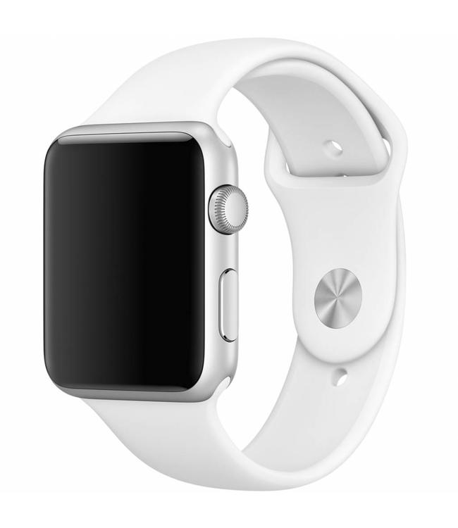 123Watches.nl 42mm Apple Watch wit sport bandje