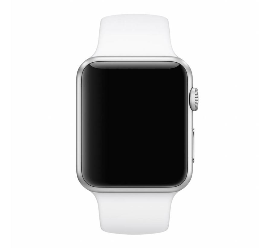Apple watch sport band - wit