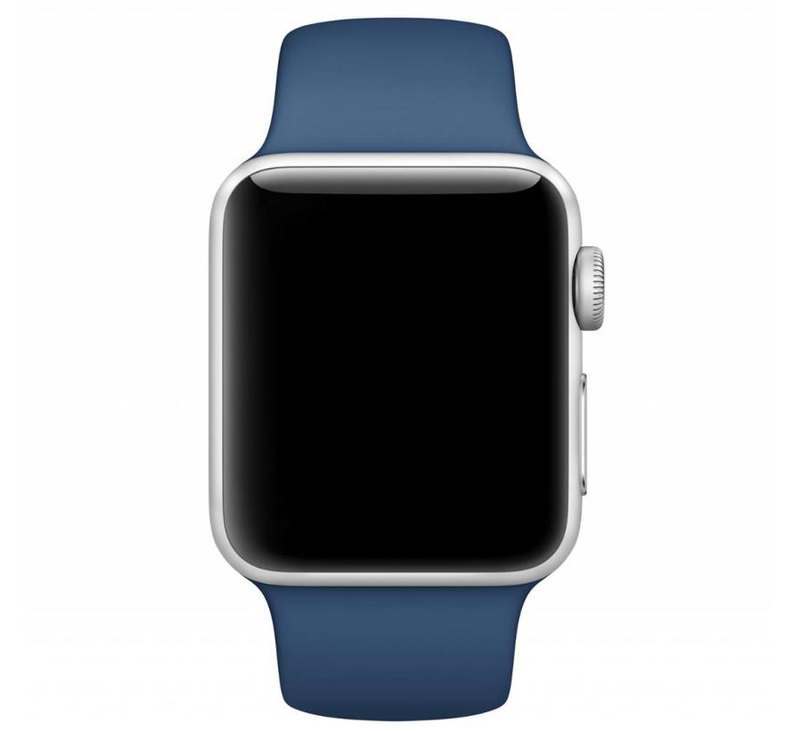 Apple watch sport band - oceaanblauw