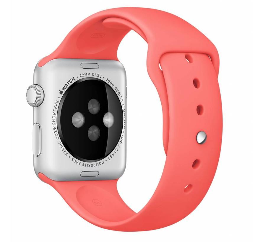 42mm Apple Watch roze sport bandje
