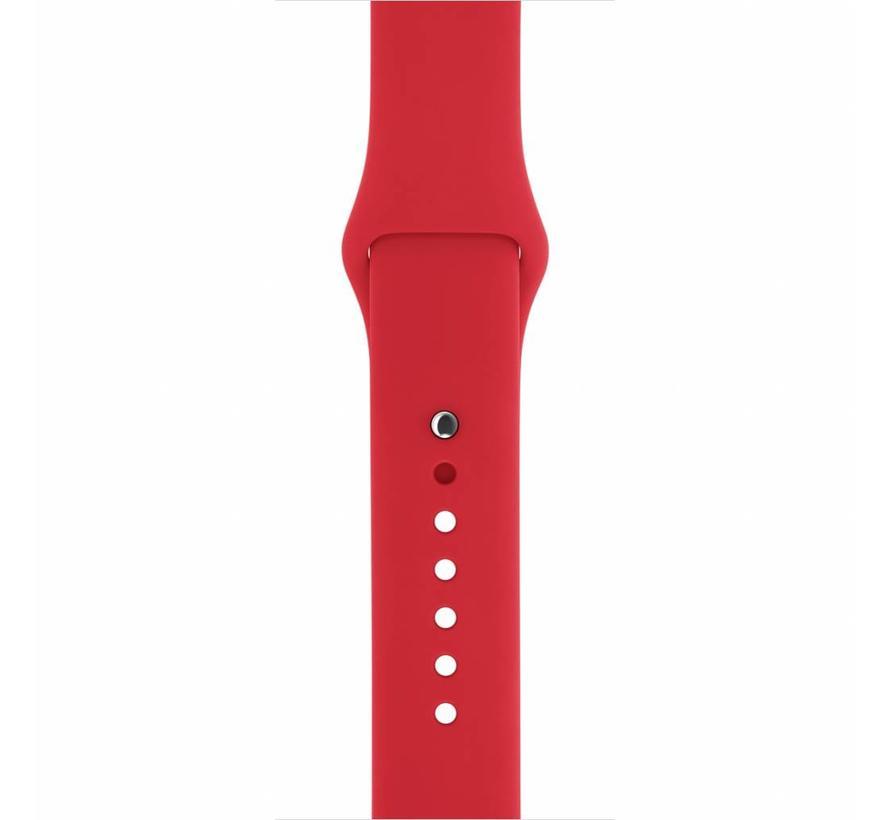 42mm Apple Watch rood sport bandje