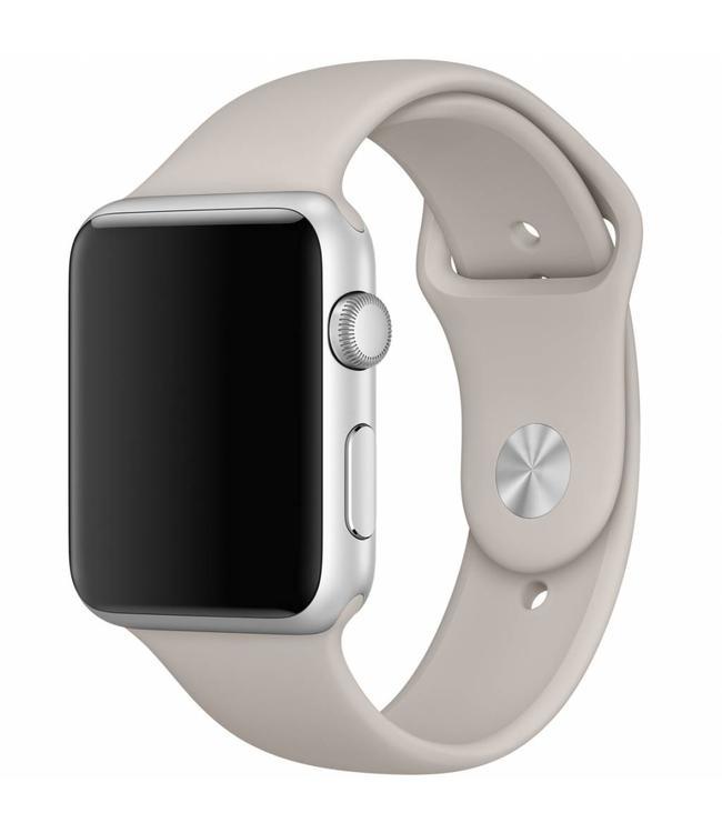 123Watches.nl 42mm Apple Watch steenbruin sport bandje