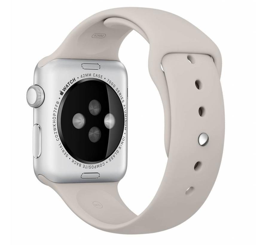 Apple watch sport band - steenbruin