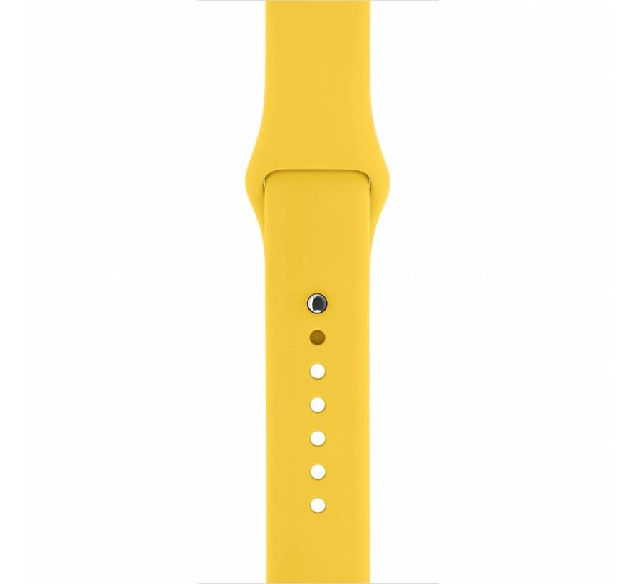 Apple watch sport band - geel