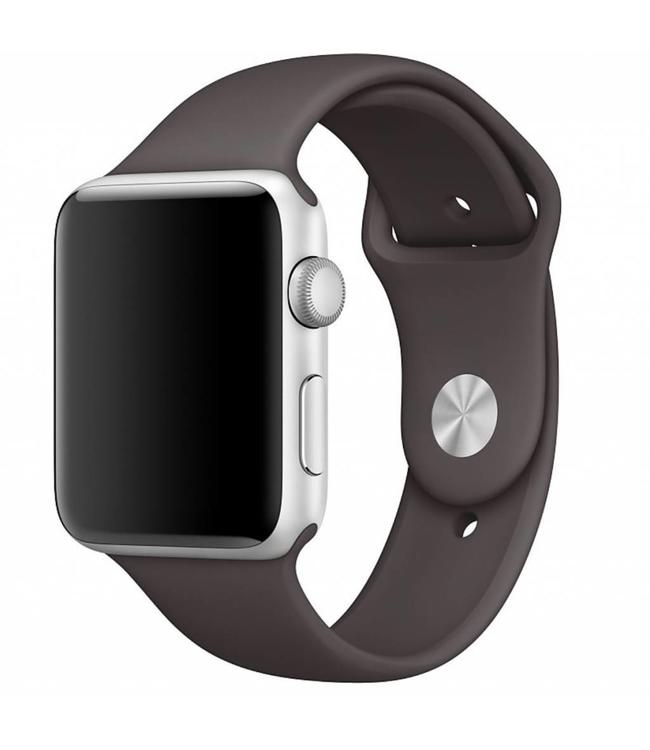 123Watches.nl 42mm Apple Watch cacao sport bandje