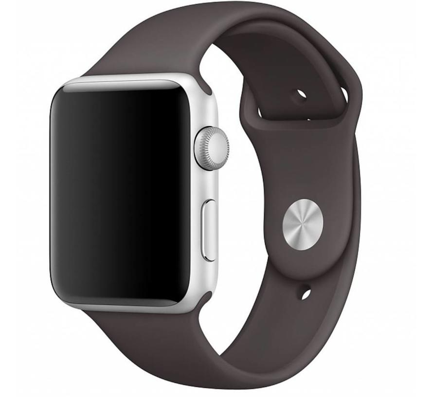 Apple watch sport band - cacao