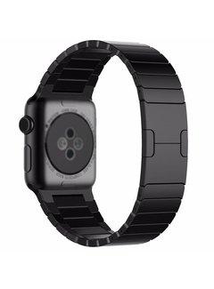 123Watches.nl 42mm Apple Watch zwarte stalen schakel bandje