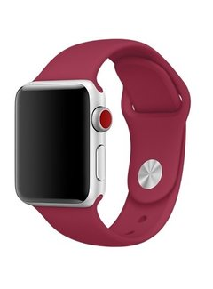 123Watches.nl 42mm Apple Watch rose rood sport bandje