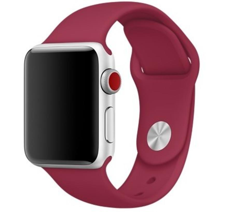 Apple watch sport band - rose rood