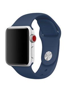123Watches.nl 42mm Apple Watch cobalt sport bandje