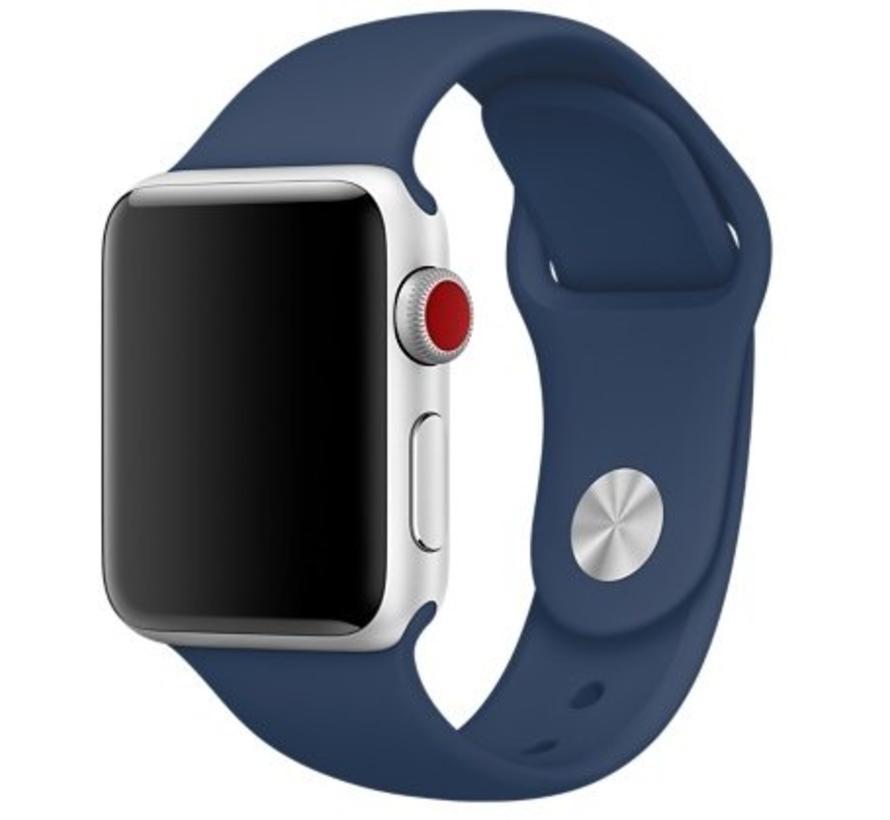 42mm Apple Watch cobalt sport bandje