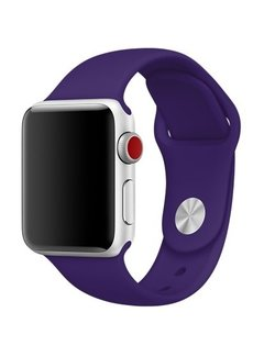 123Watches.nl Apple watch sport band - violet