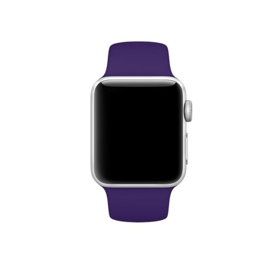 Apple watch sport band - violet