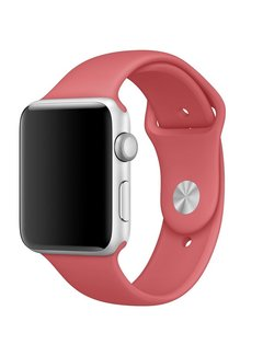123Watches.nl 42mm Apple Watch camellia sport bandje