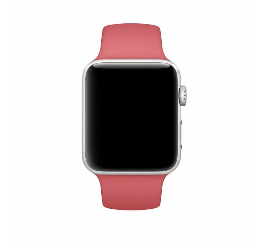 42mm Apple Watch camellia sport bandje