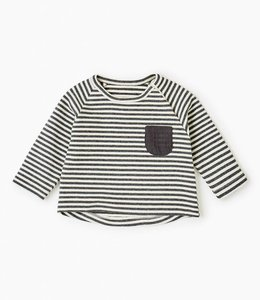 Zara Gestreept t-shirt met zakje