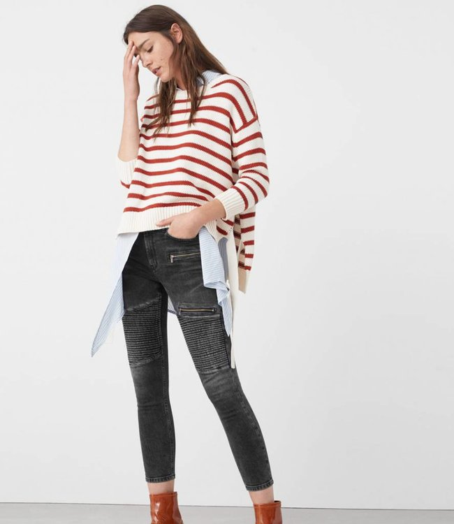 Mango Biker superskinny jeans