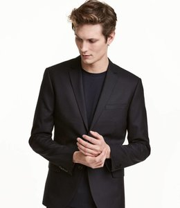 H&M Blazer van wol