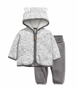 H&M Fleece set