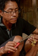Ways of Change |Bracelet Jet Coin Bangle
