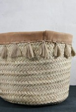 Tasanou Basket Tassel Teddy