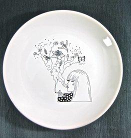 Oh you pretty plates | Plate smoking birds