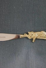 Leopard Butter Knife