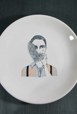 Plate Smoking Dandy