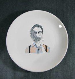 Plate Smoking Dandy