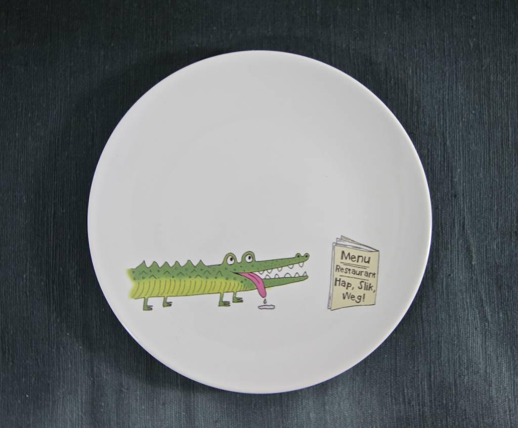 Plate Croco