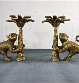 Doing Goods Candleholder Monkey