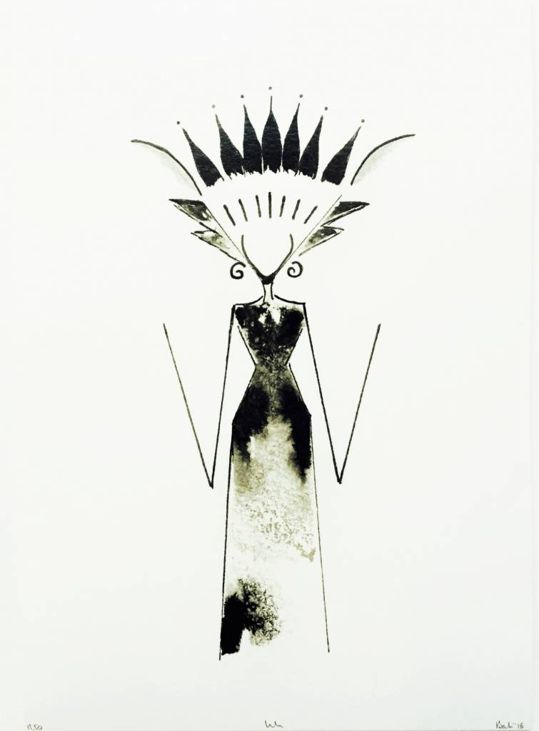 'Bali Lady' by INK Amsterdam