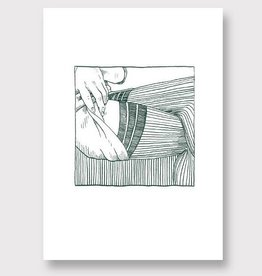 'Stockings Green' by Linda Rusconi