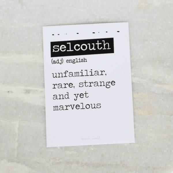 Bobini Roots Card | Selcouth