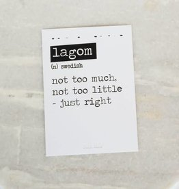 Card Lagom