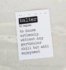 Card Balter